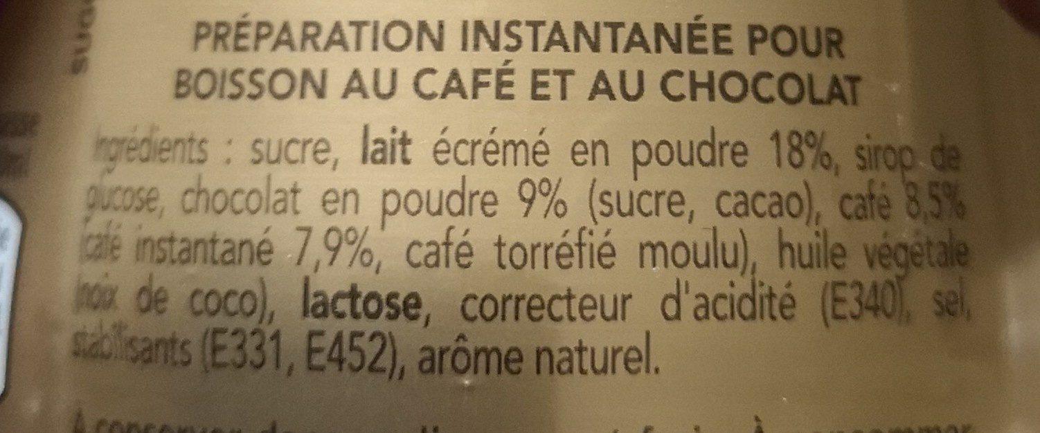 Café viennois - Ingrediënten - fr