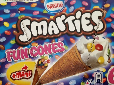 Smarties Fun Cones - Produit