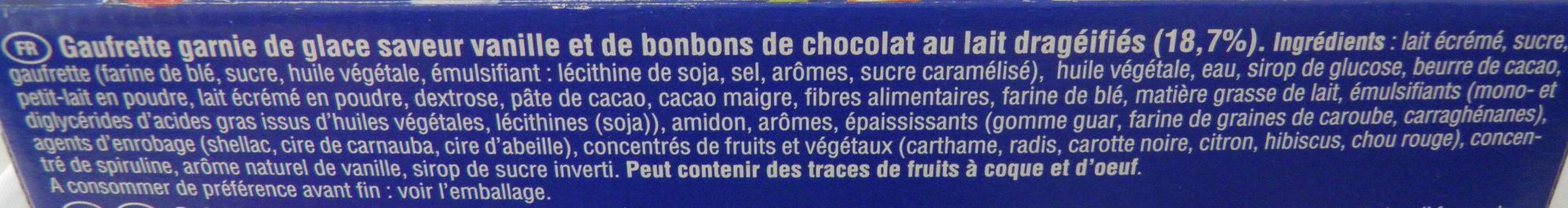 Smarties Fun Cones - Ingrédients - fr