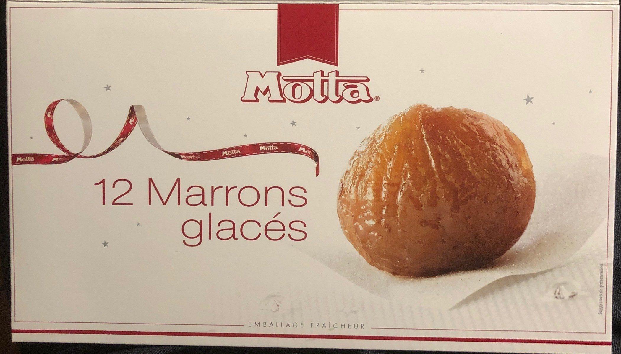 12 Marrons glacés - Produit