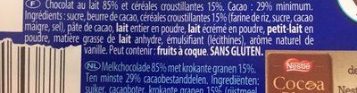 Crunch - Ingrediënten