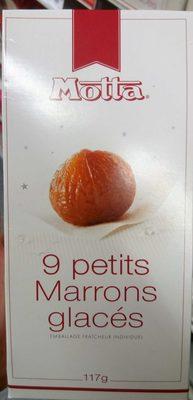 9 petits marrons glacés - Produit