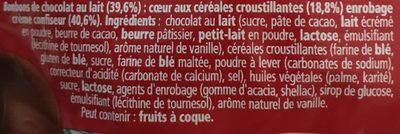 kit Kat ball - Ingredientes - fr