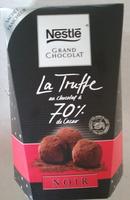 La Truffe au chocolat à 70% Cacao - Product