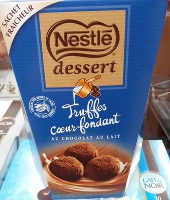 Truffes coeur fondant au chocolat au lait - Produit