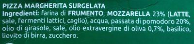 Bella Napoli Pizza Margherita - Ingredienti