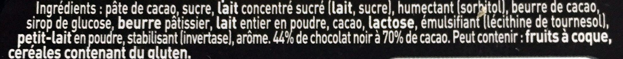 Truffes - Ingrédients