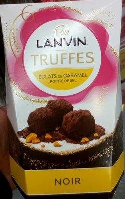 Truffes Noir éclats de caramel pointe de sel - Prodotto - fr