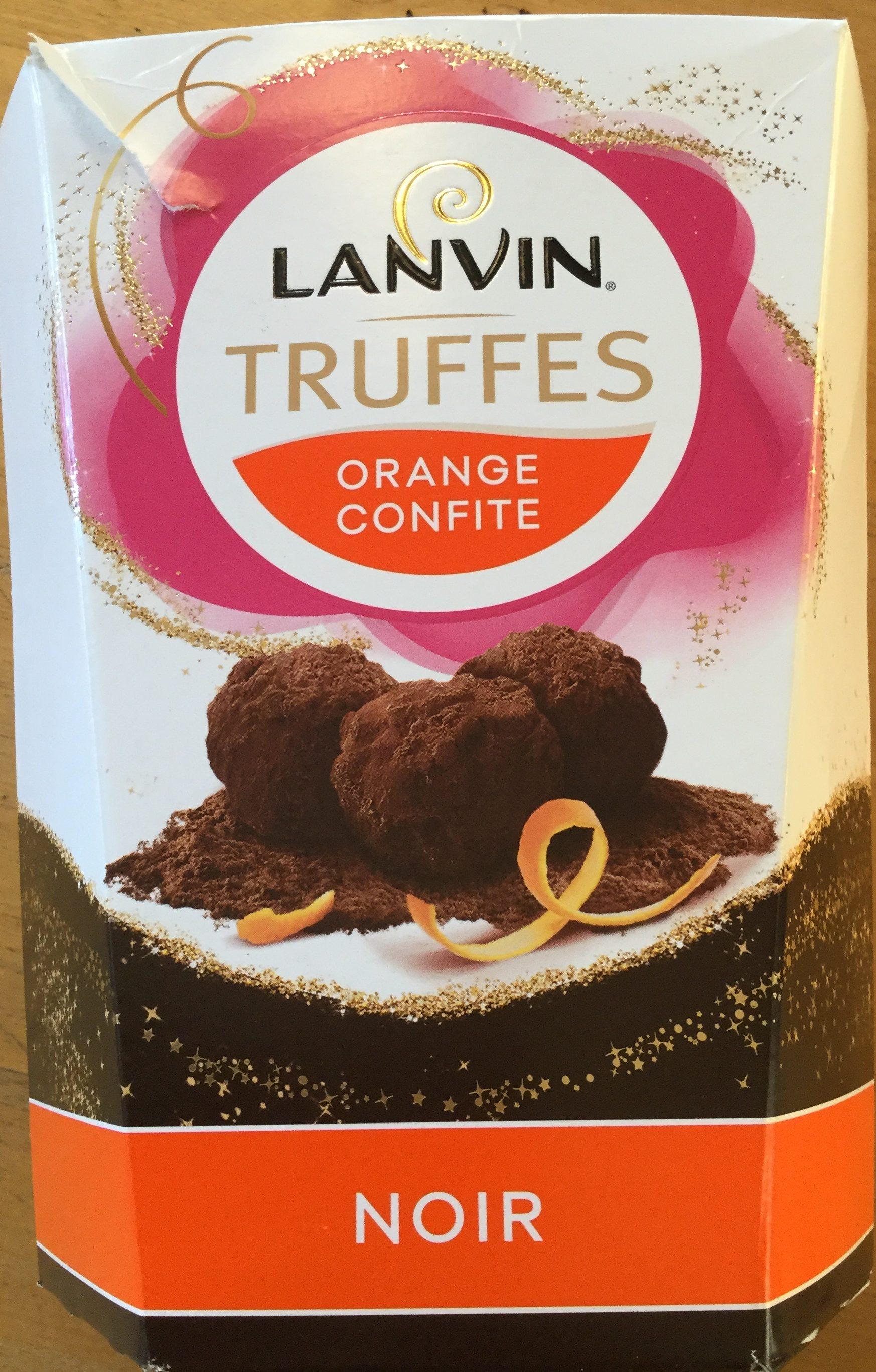 Truffes orange confite noir - Product - fr