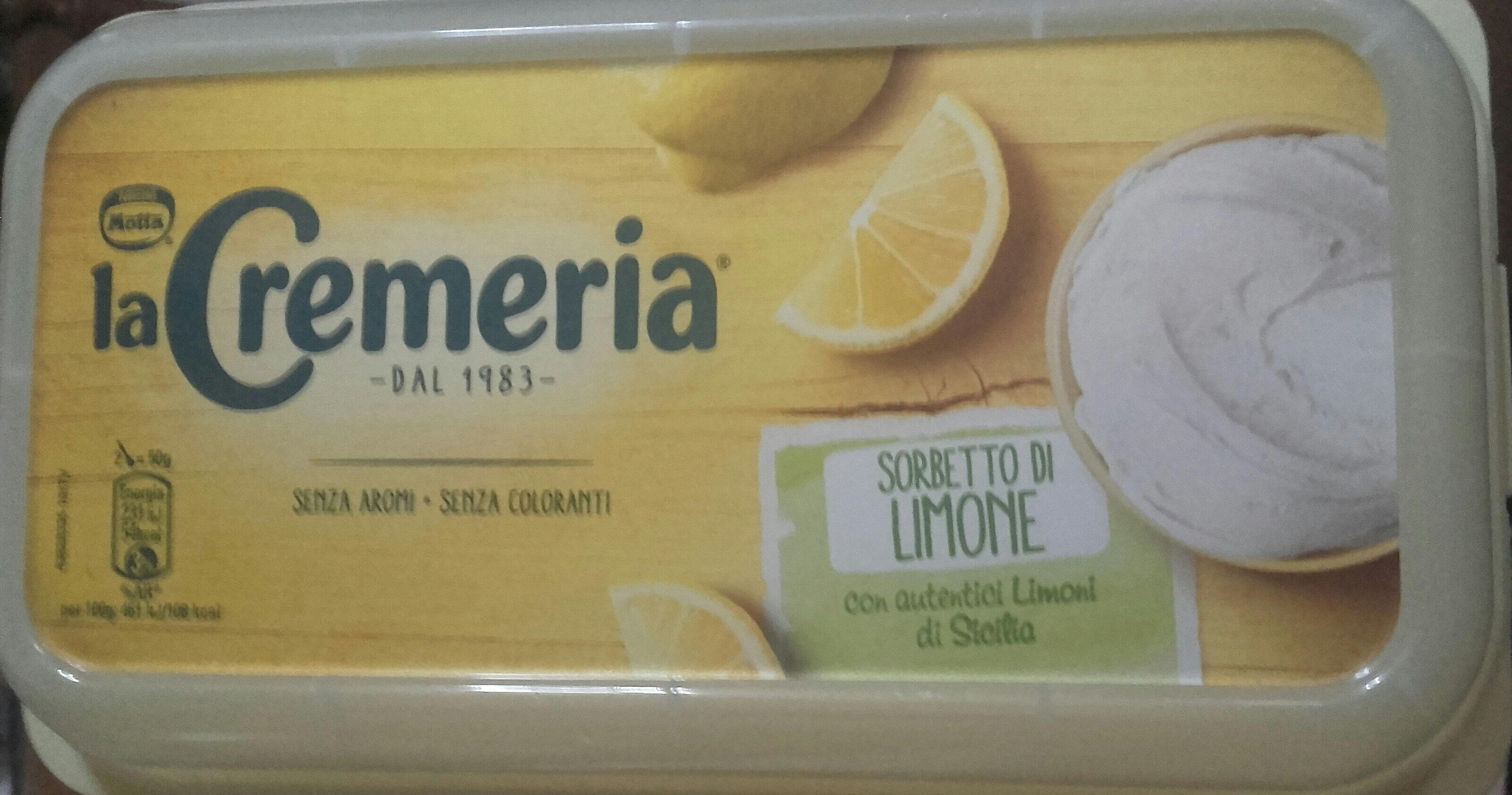 Sorbetto al limone - 产品