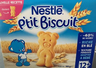 Nestle p'tit biscuit - Product