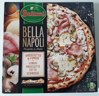 Bella Napoli prosciutto & funghi - Produit - fr