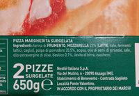 pizza bella Napoli - Ingredients