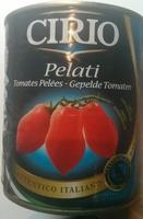 Tomates pelées - Producto - fr