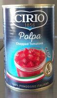 Pulpe de tomates en dés - Product - en