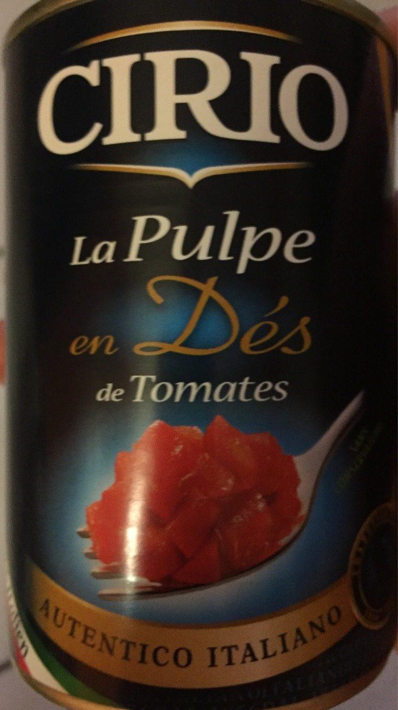 Pulpe en dés - Produit - fr