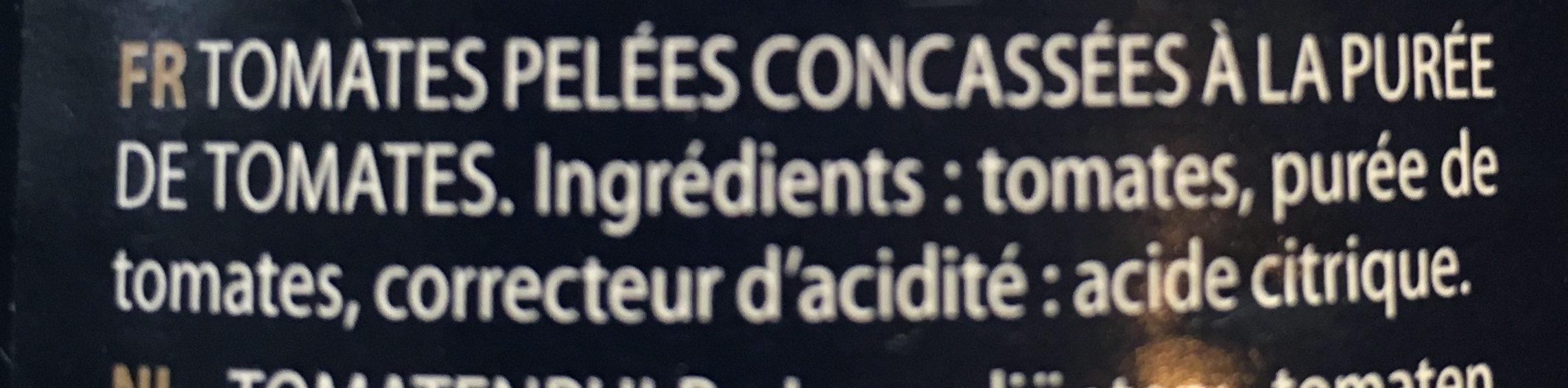 Gemüse: Tomaten: Pulpa - Ingrédients - fr