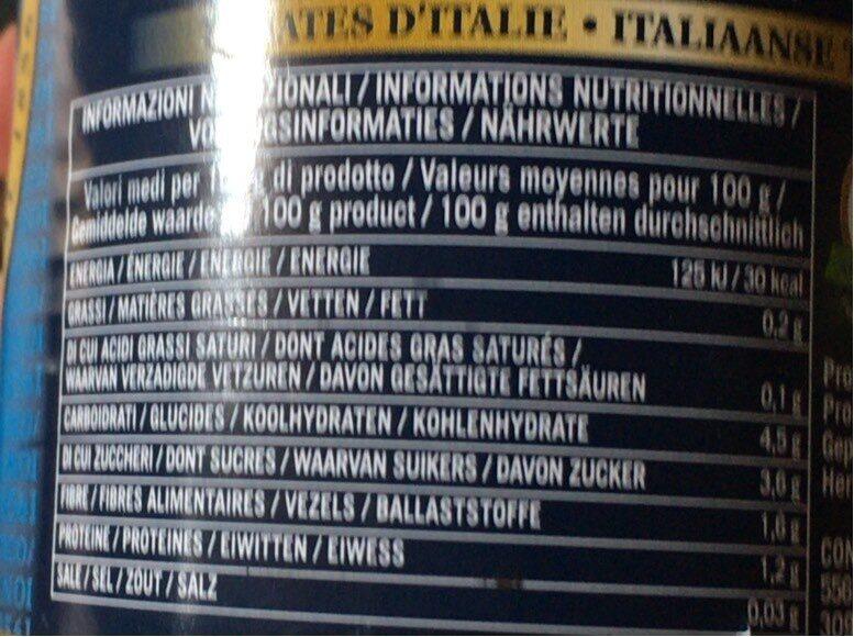 Cirio, Pomodorini, Tomates Cerises, 400g - Voedingswaarden - en