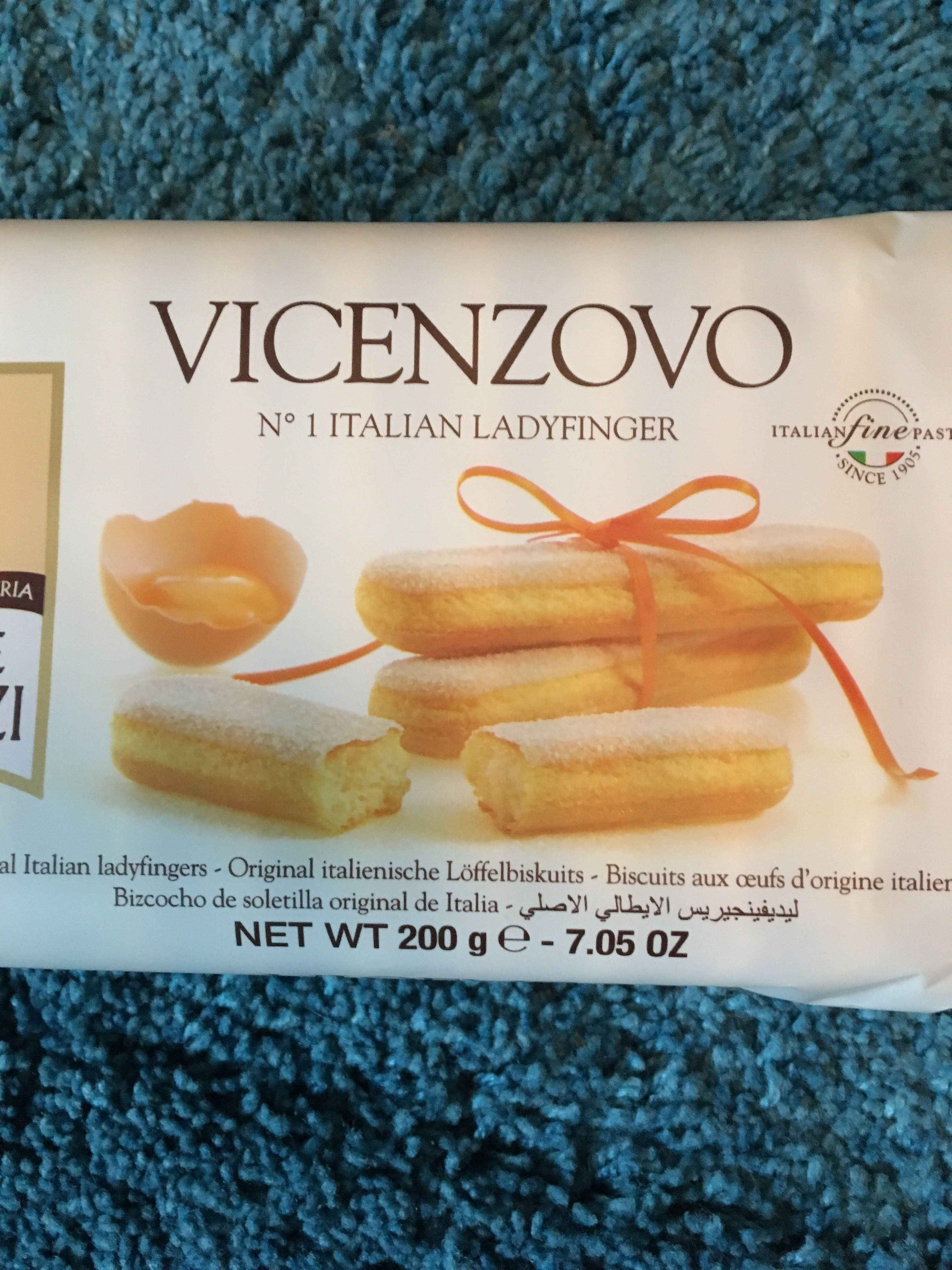 Savoiardi Vicenzovo - Product - de