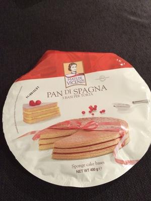 Pan di Spagna 3 basi per torta - Product - it