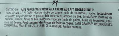 Bocconcini à La Crème De Lait - Ingrédients