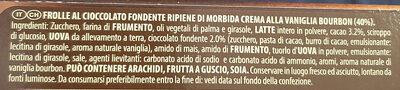 Grisbi Wild pregiata vaniglia Bourbon & dark choco - Ingredients - it