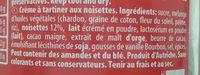 Loacker Napolitaner Streichcreme - Ingrédients - fr