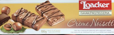 Crème Noisette Cream Filled Wafer Biscuits - Product - fr