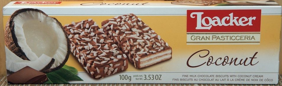 Gran Pasticceria Coconut Biscuits - Product