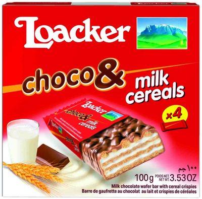 Choco & Milk Cereals - Product - fr