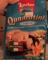 Quadratini vanille - Produit - fr