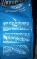 Quadratini vanille - Ingrédients - fr