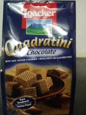 Quadratini chocolat 125G - Product - fr