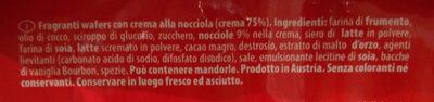 Napolitaner - Ingredienti - it