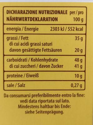 6 Tortina Original - Nutrition facts - fr