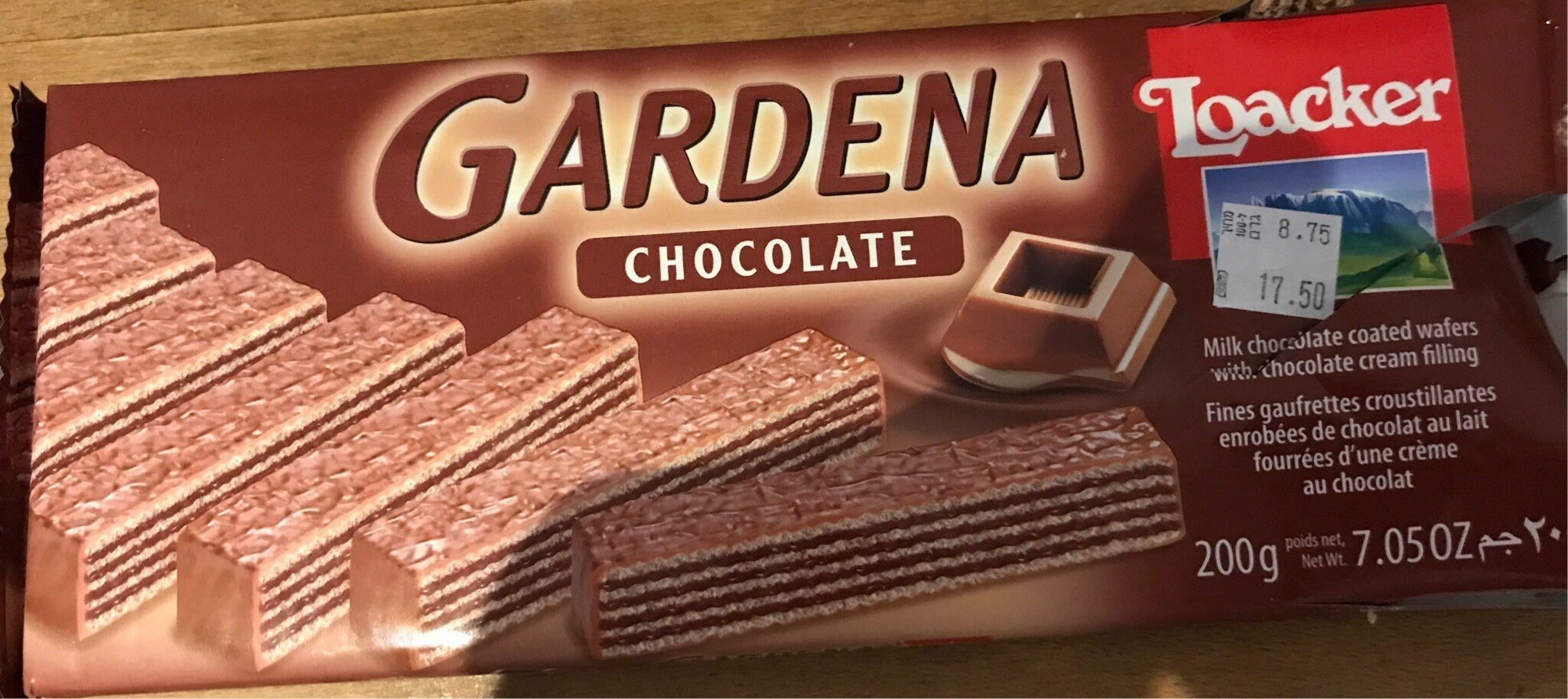Loacker Gardena Chocolate Wafers - Produit - fr