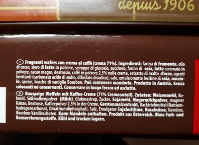 Espresso - Ingrédients - fr