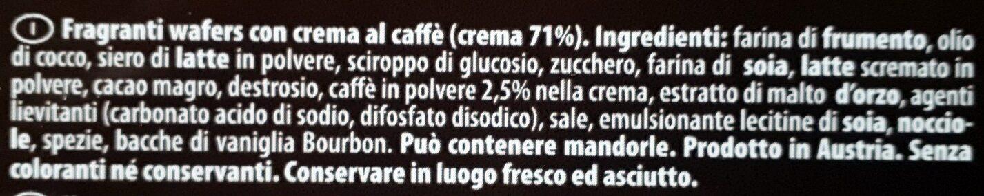 Espresso - Ingredients