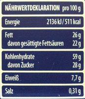 Cremkakao - Informations nutritionnelles - de