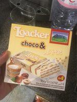 Loacker choco et white - Produit - fr