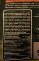 Loacker - Informations nutritionnelles - fr