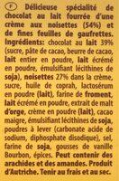 TORTINA Original - Ingrédients - fr