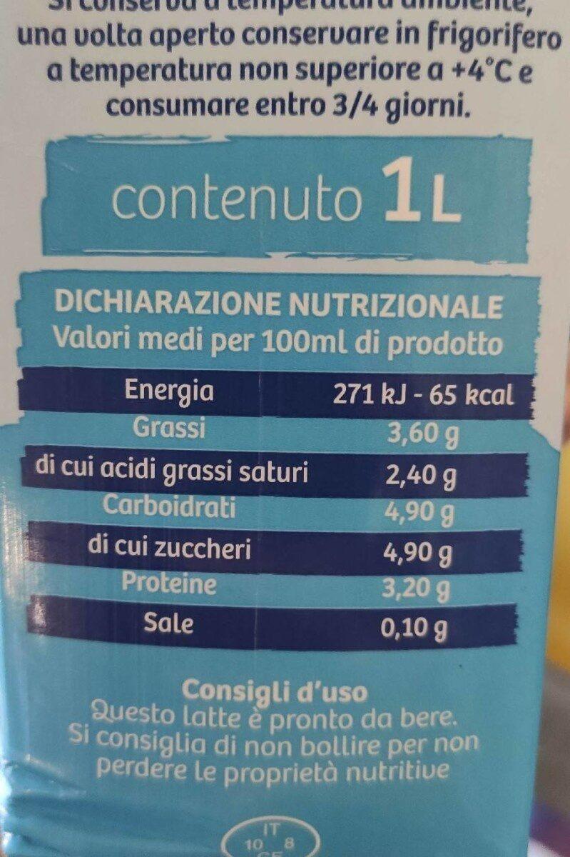 Latte maremma - Valori nutrizionali - it