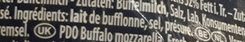 Mozzarella di Bufala Campana (D.O.P.) - Ingredients