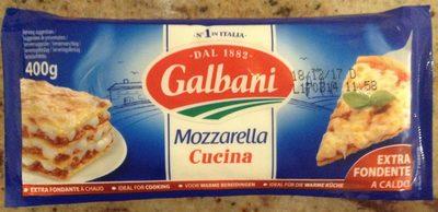 Mozzarella Cuisine - Produit
