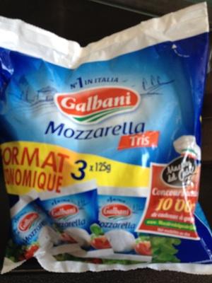 Mozzarella (Lot de 3) - Produit - fr