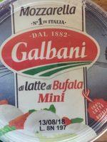 Mozzarella di latte di Bufala Mini - Product