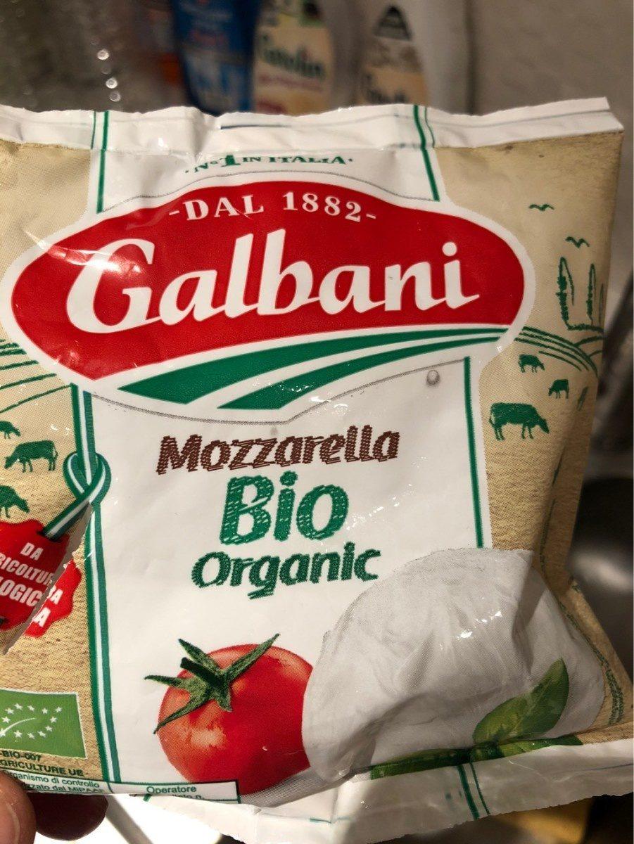 Mozzarella bio organic - Producte - fr