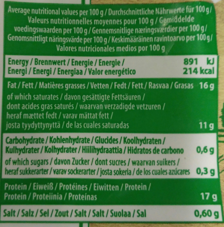 Mozzarella bio organic - Ingredients - fr