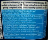 Mozzarella Di latte Di bufala - Informations nutritionnelles - fr